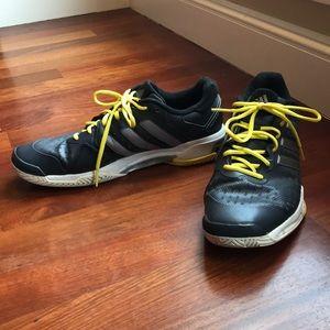 adidas Adiprene Black and Yellow Shoes, 13